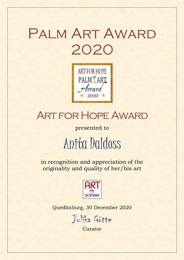 Art for Hope Award 2020